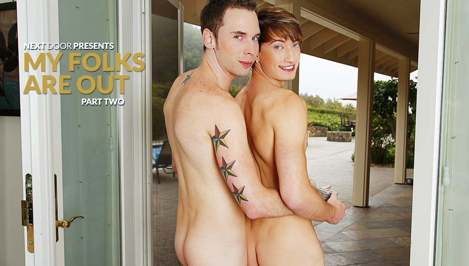 Tripp Townsend & Damian Black in My Folks Are Out, Part Two XXX Video what woman think about penis