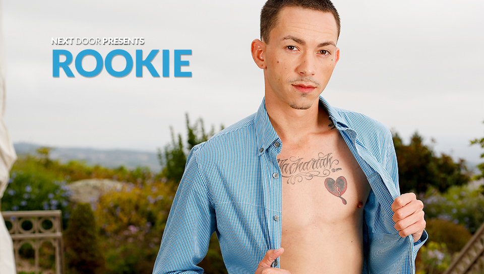 Rookie in Rookie XXX Video Cute naked white booty