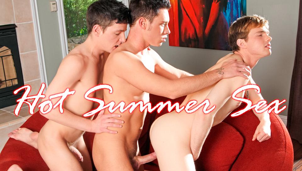 Colby Harris & Stephen Charles & Ezra Taylor in Hot Summer Sex XXX Video Black shemale pornstar sasha