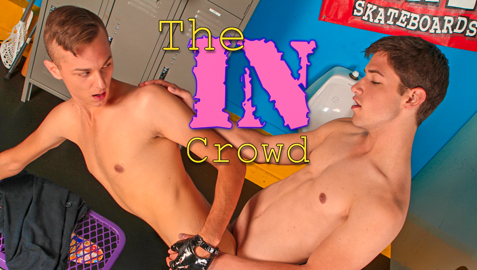 Paul Poleman & Jake Jonas in The In Crowd XXX Video Monster Huge Cock Anal