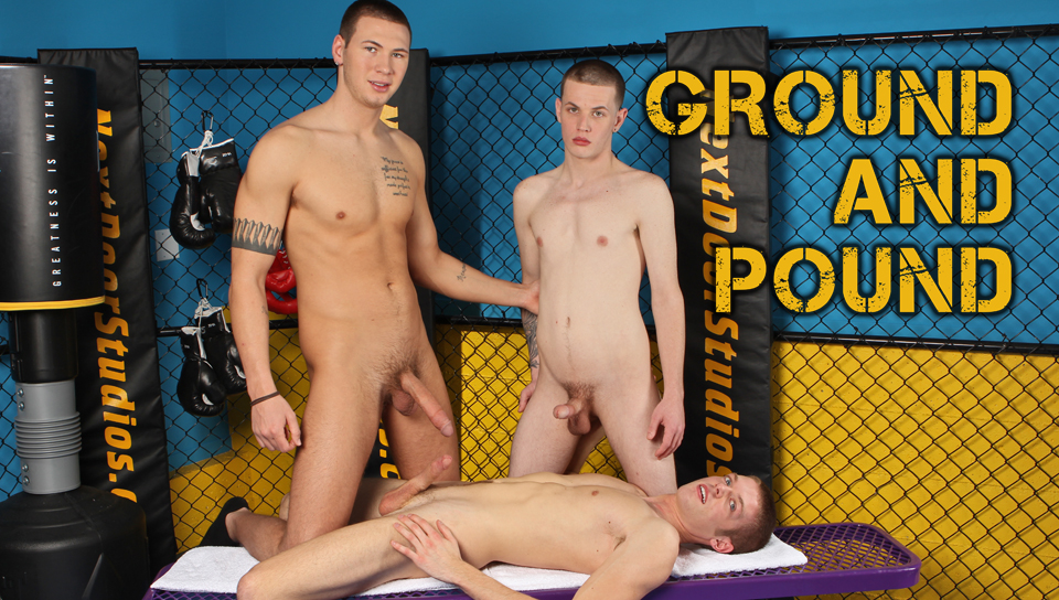 Jay Cloud & Anthony Price & Morgan Shades in Ground and Pound XXX Video Itala Porn