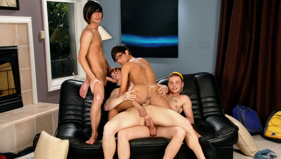 Joey Hard & Noah Brooks & Jay Dubbs & Landon Terry in House Bangers XXX Video Cristalprive