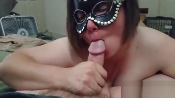 Milf striptease turns into blowjob, big natural tits