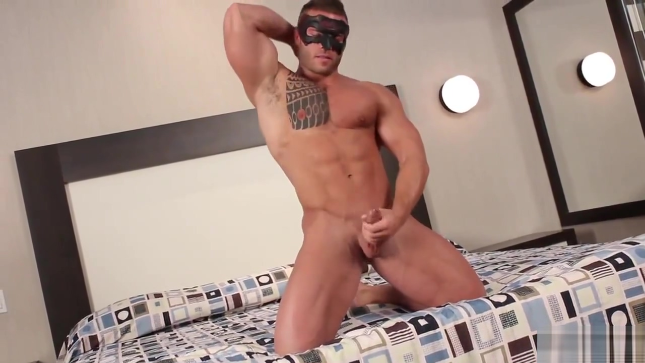 [Maskurbate] Muscle Hunk Cums Shemale groningen