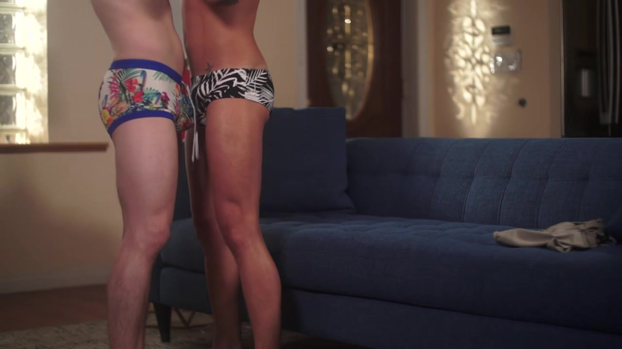 Tyler Sweet & Andy Taylor flip fuck bareback after a day at the water park Sexy booty grind