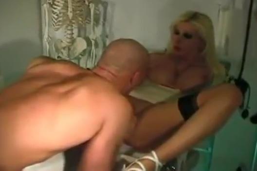 Eva Vortex in Medical Exam Sexy stocking clips