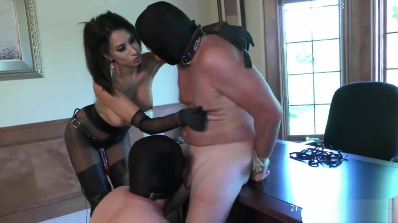 ALa NyLons Mistress Fuck Strapon Slave - SUPER XXX Her special spot