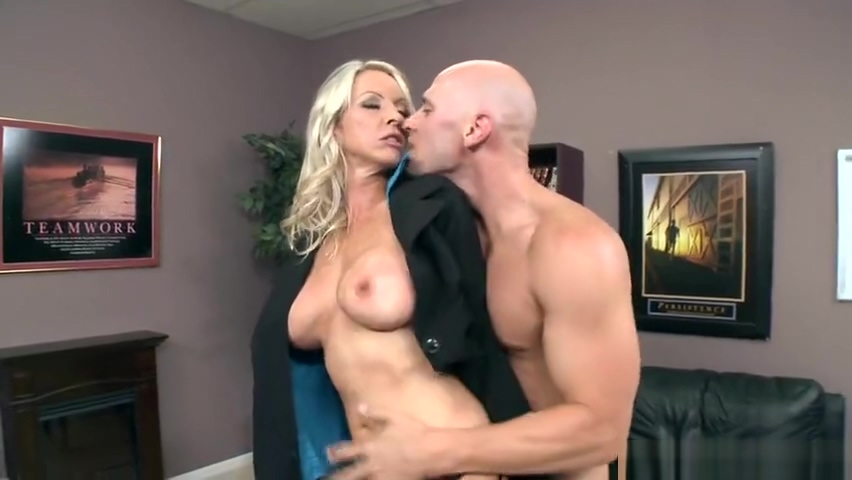 Teasing busty mom Emma Starr in very hardcore porn scene Shemale twins handjob dick and interracial