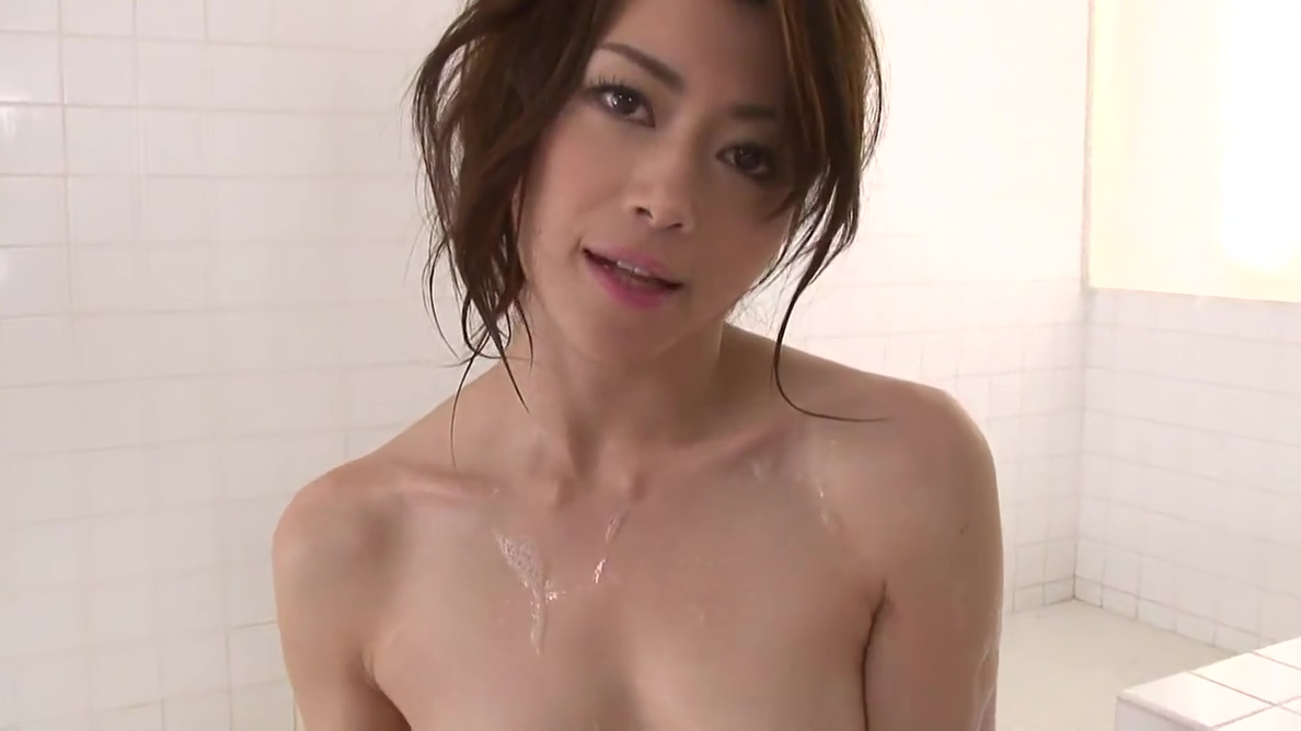 Pretty Japanese babe loves eating cum after blowjob the bottom line club in new york