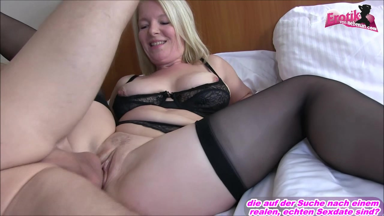 german amateur mature mom creampie from younger guy