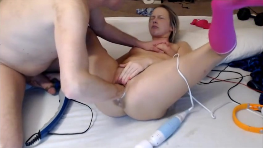 Pussy Fisting. Female Orgasm Denial. She is not allowed to cum. Big foot nude