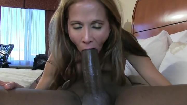 Seductive latino Hot Wife Rio performin in interracial porn movie