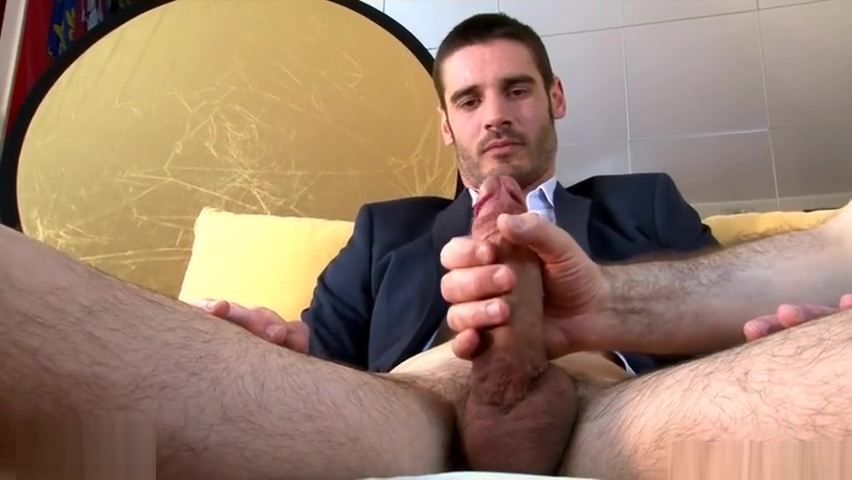 True straight guy in suit made gay porn in spite of him to get a contract. Bbc friend wife sexy fuck