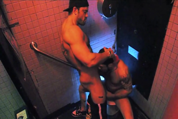 RR fucking in a public bathroom Fucked tits and ass