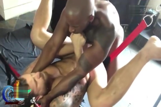 Sling Leather Threesome with M Konnor A Akyia Riley M Nasty filipina slut tattoo saggy tits