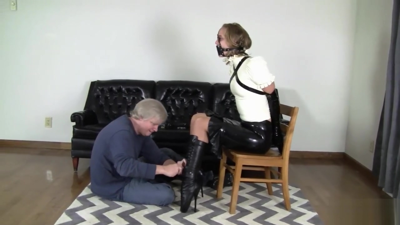 Ballet boots and armbinder combo Online booty call review