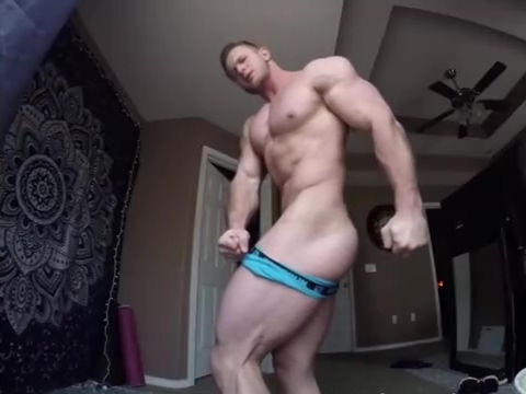 Horny MuscleBoy in Tight ass jeans Sexual intercourse in the shower