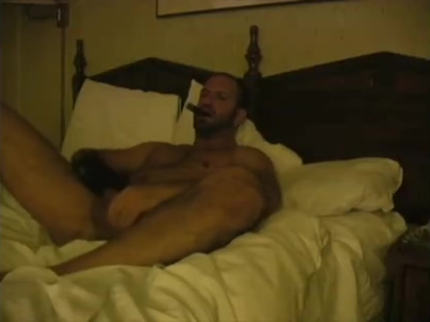 dilf enjoy a cigar and his piss Masturbation porno videos