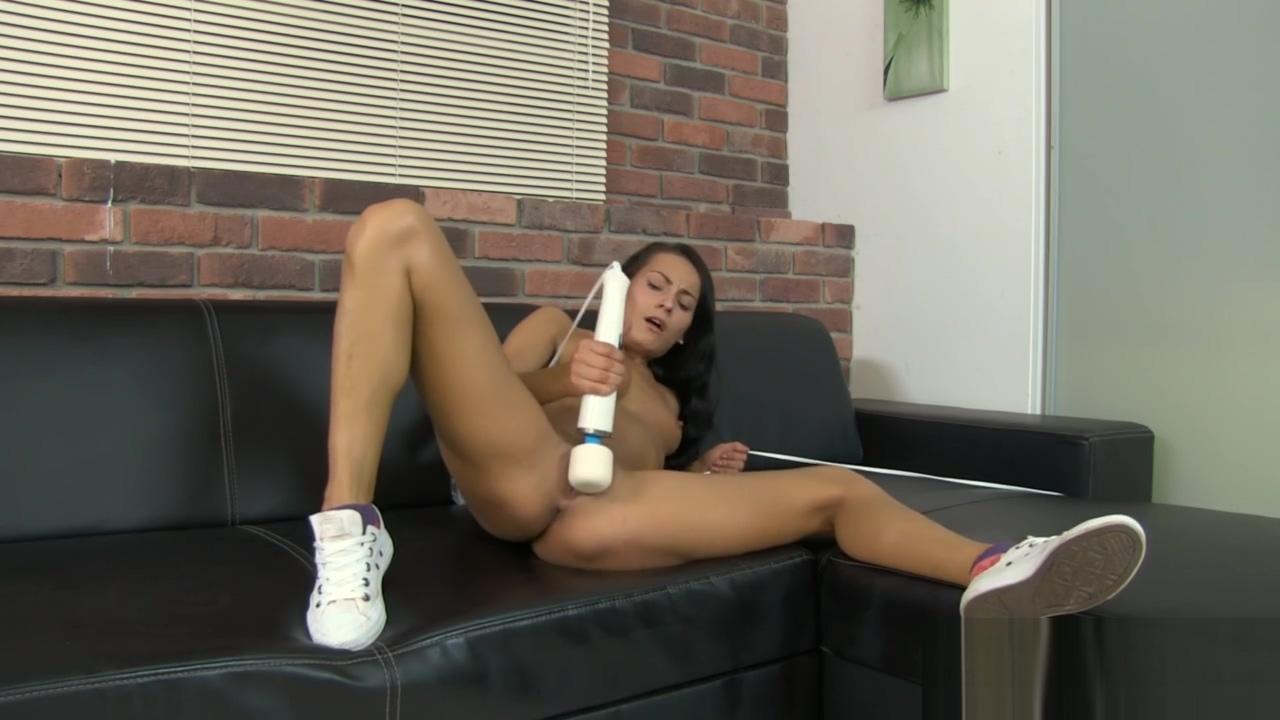 Hitachi wand makes me orgasm hard interracial blowjob cumshot compilation white girls sucking swallowing cum 3