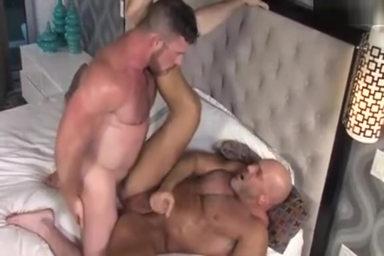 Two sexy muscle daddies flip fuck each other hard Bizarre Dorm LifeSelector