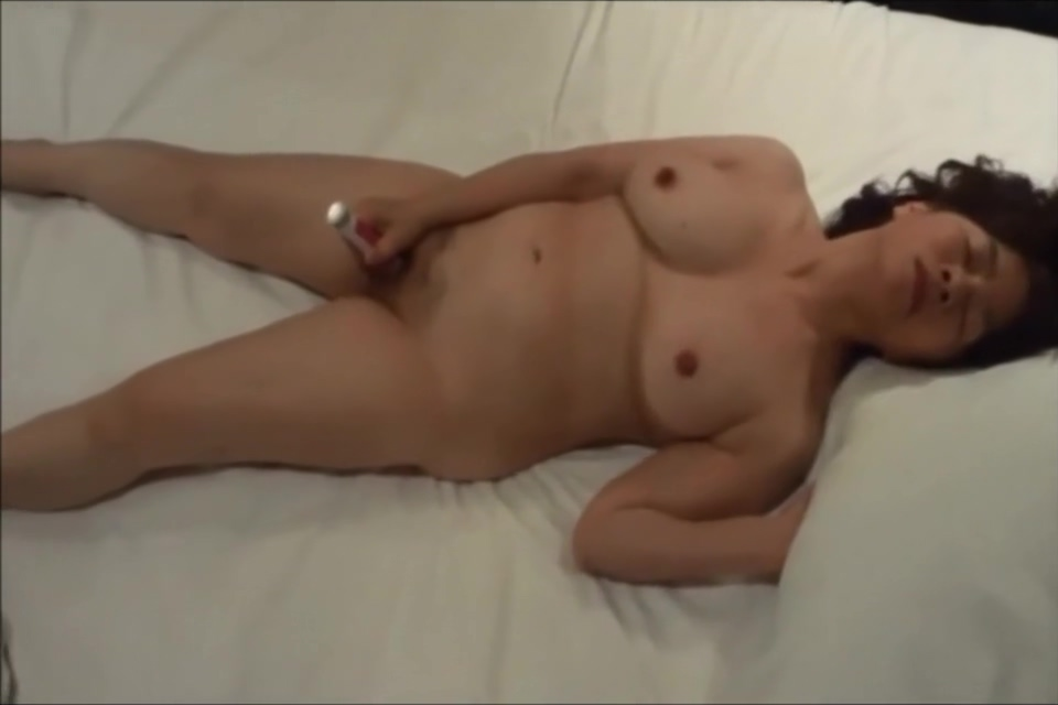 Old Asian in Love With Solo pleasure