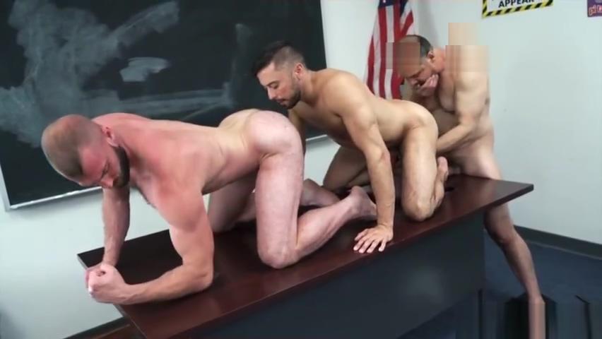 Daddy Max, Shane & Donnie - Skipping Class! (Bareback) Crotch Rubs
