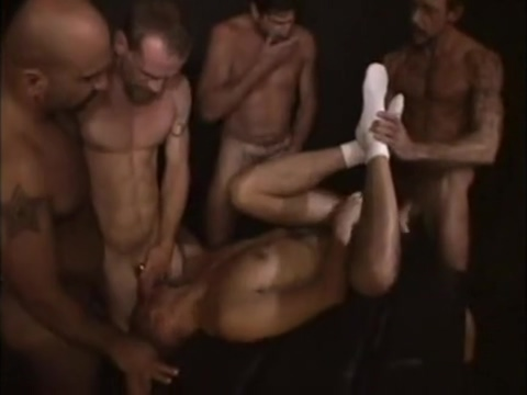 Bareback Five Old and twink orgy