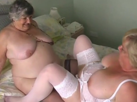 Old fat slut and her friend Clara fuck each other My girlfriends cunt pics