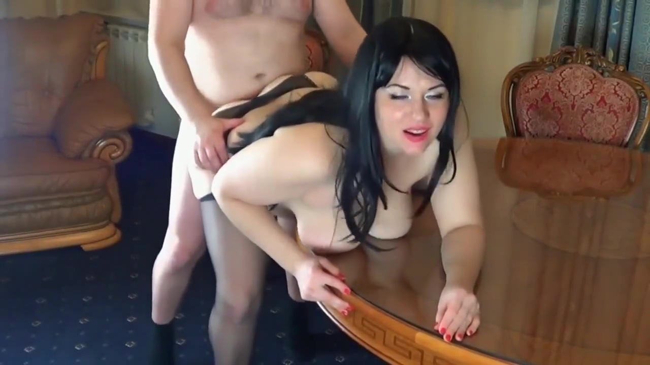 Horny Anal Mom Bigass dyke dominated by an alluring babe