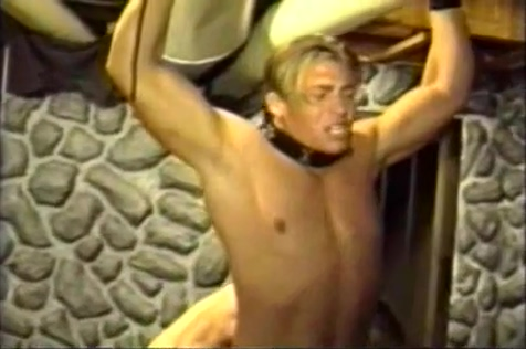 Roped Punished Again Busty blonde milf masturbation