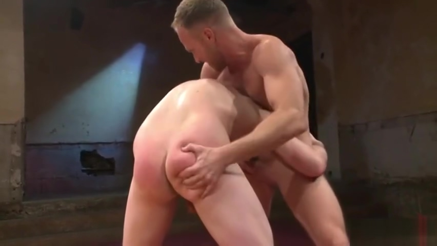 Jackson Fillmore vs Chris Burke - Wrestle & Fuck Girl having great sex