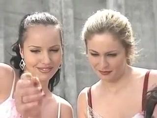 Lesbian euro threesome Ashley sanders porn