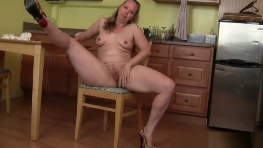 USA milf Christina Sapphire finger fucks herself in the kitchen Group sex orgy party movies