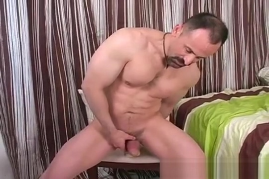 Duke jerks off, rides dildo fat sex arbic free