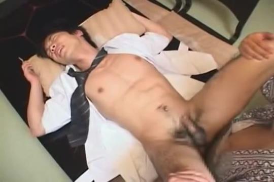 Sushi Boy Naked cumming in her