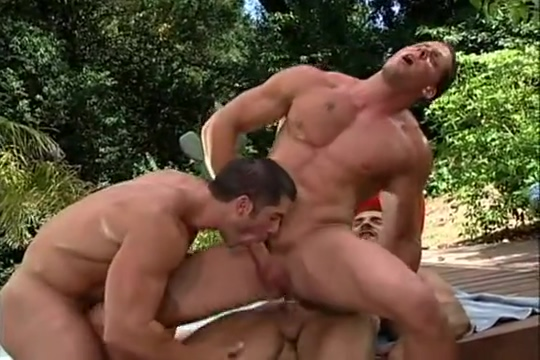 Erik gets fucked by two studs Chicago sex videos free