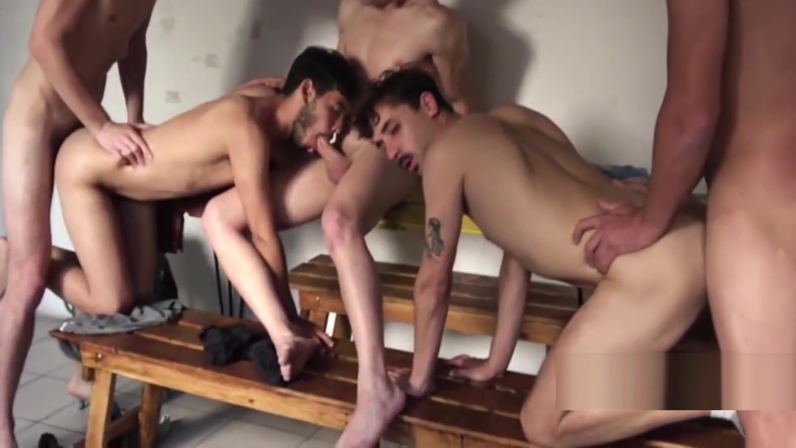 SOME LATIN MALE GANGBANG Father fisting daughter