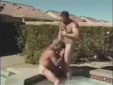 Pool Bears Grandpa and grandma softcore