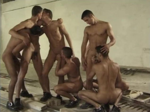 Hungarian Barn Orgy Horny Blonde Gets Fucked and Swallows...