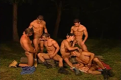 Hunk Orgy 1 Crazy hot girl ready to fuck