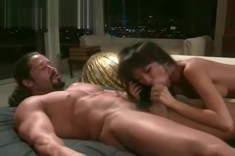 Muscle Dude Eats Asian - Colt Steel Crys while being fuckd