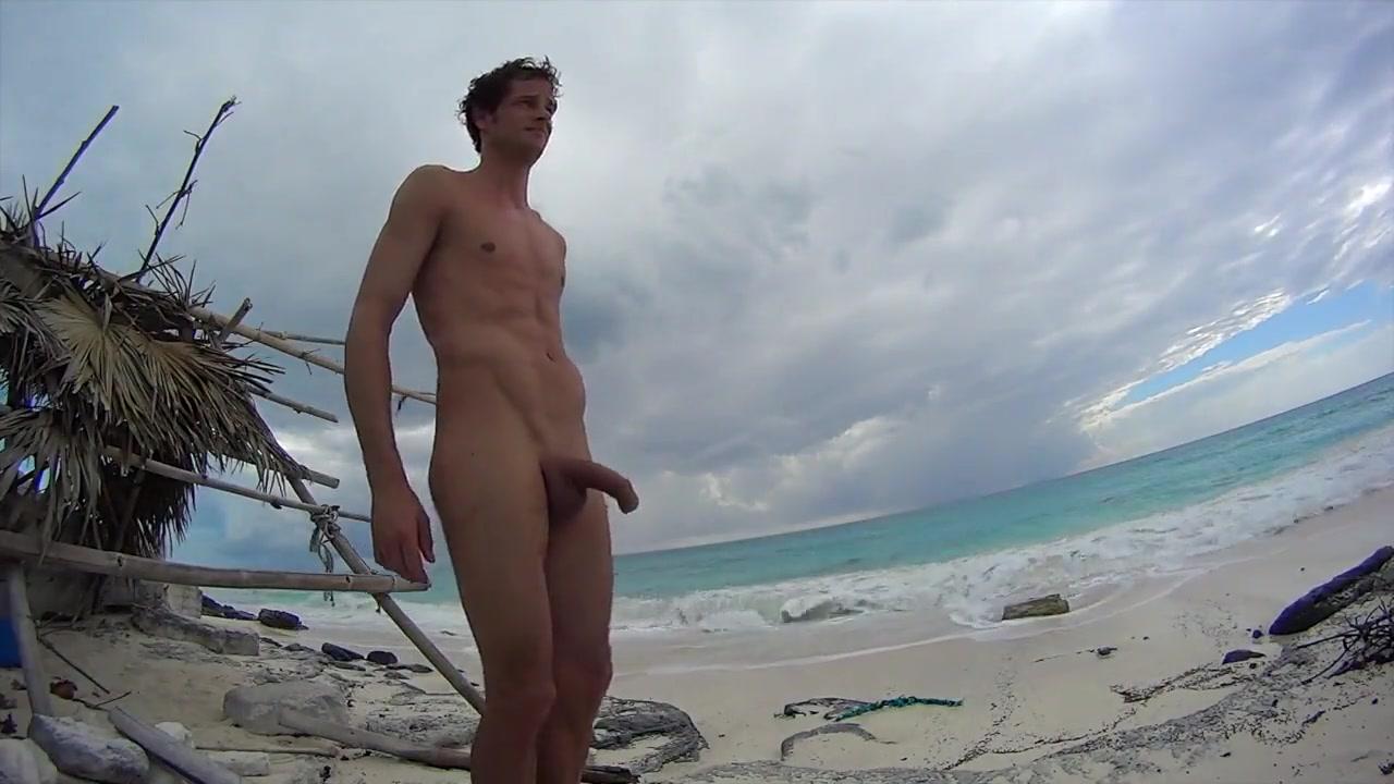 Rock hard cock on beach in Cuba Vitamin c effects on sperm