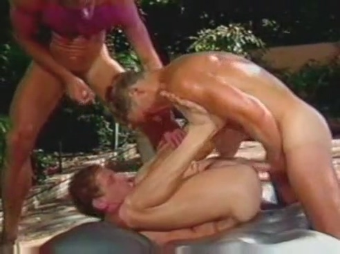 Massage turns into gay threesome naked six pack girl