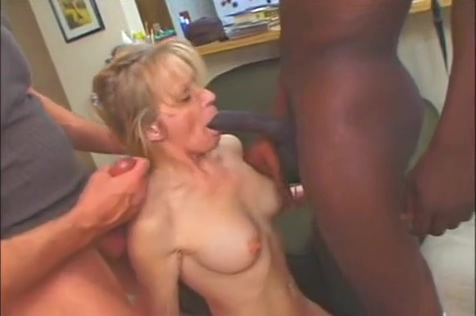 A Blond Wife Gets Shared By Hubby And Black Dude kylie page porno anal