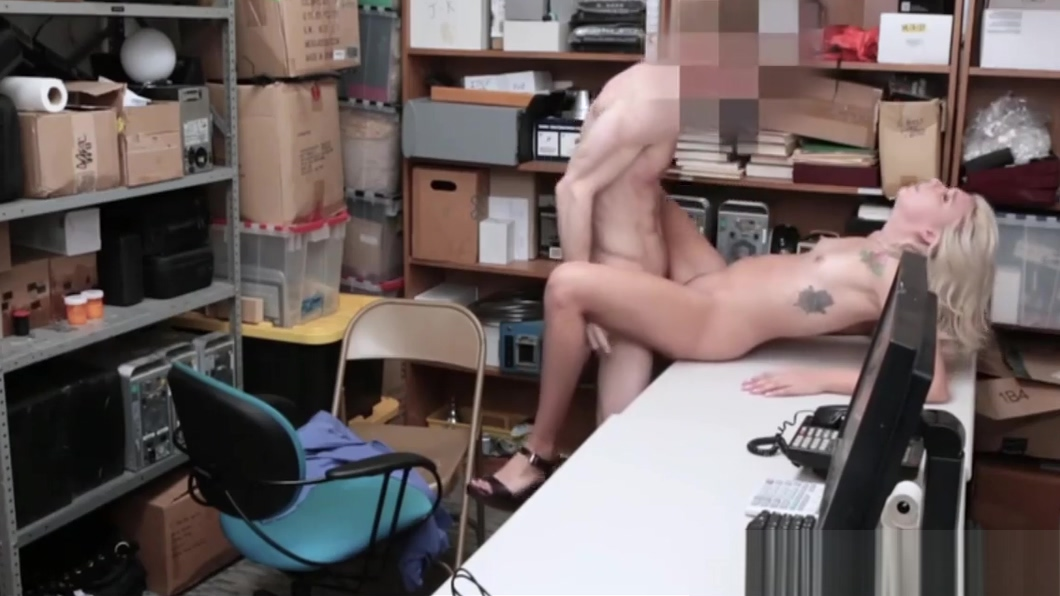 Blonde Teen Shoplifter Rough Fucked To Orgasm By Guard Stunning summer gang bang