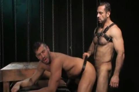 Logan Scott and Adam Champ Forced orgasm and ass klicking