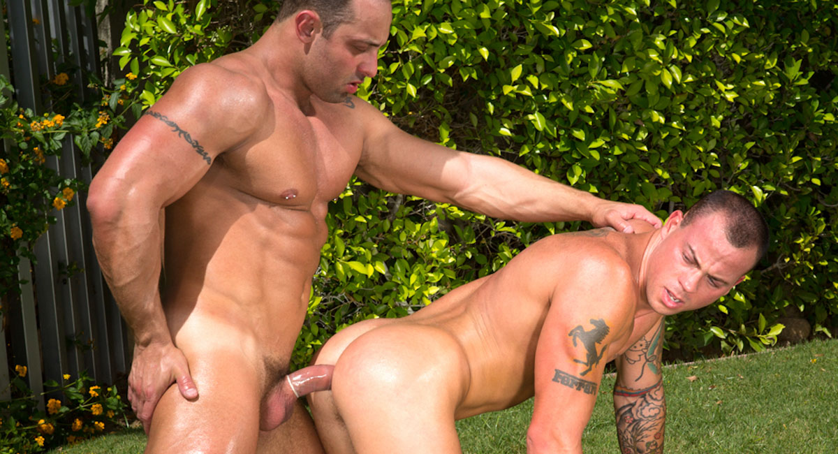 Fabio Stallone & Sean Duran in Trunks 8 Video Real wife nude pics