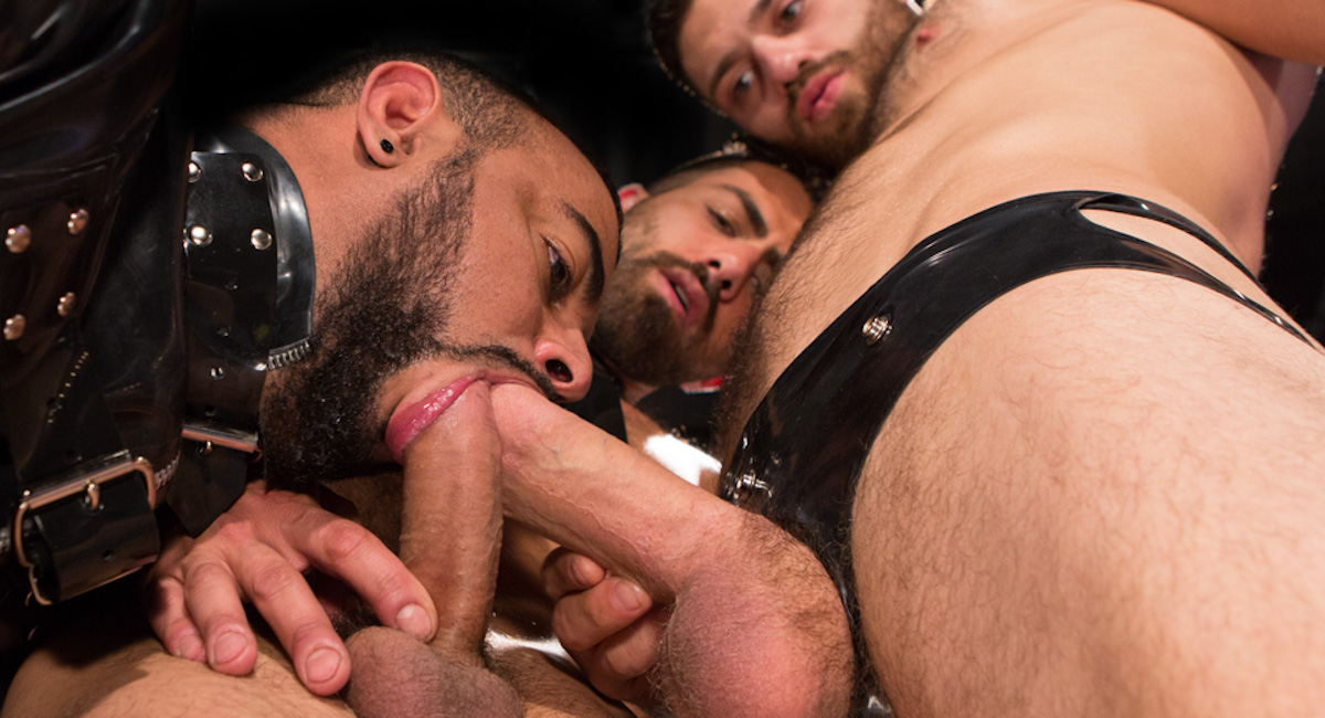Adam Ramzi & Tommy Defendi & Tony Orion in Control Room Video Sex toy home shows