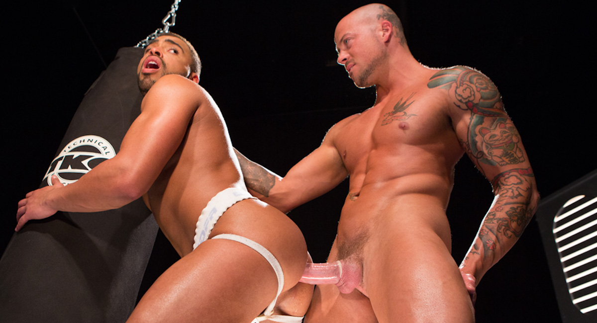 Sean Duran & Micah Brandt in Extreme Fuck Club Video Blindfolded Porn German Molested