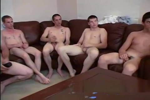 Str8 Guy Jack-Off Race Her losing virginity